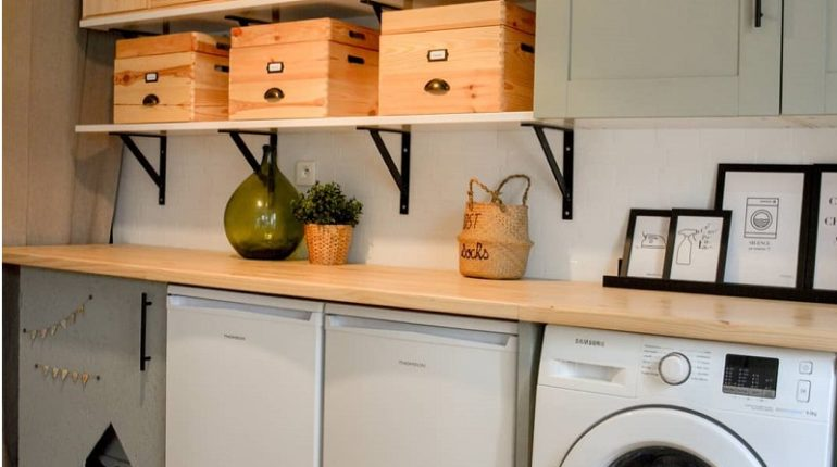 Brilliant Decor Ideas For Laundry