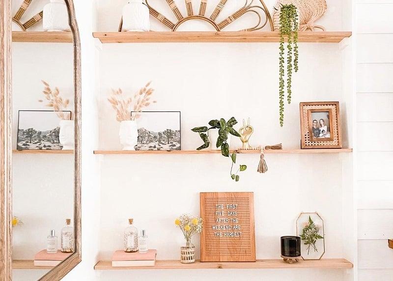 Easy And Stylish Shelf Decor Ideas