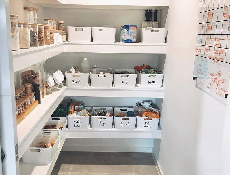 Modern Decor Ideas For Kitchen Pantry Room