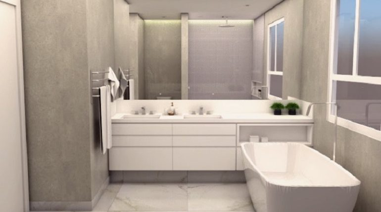 Minimalistic Modern Decor Ideas For Bathroom