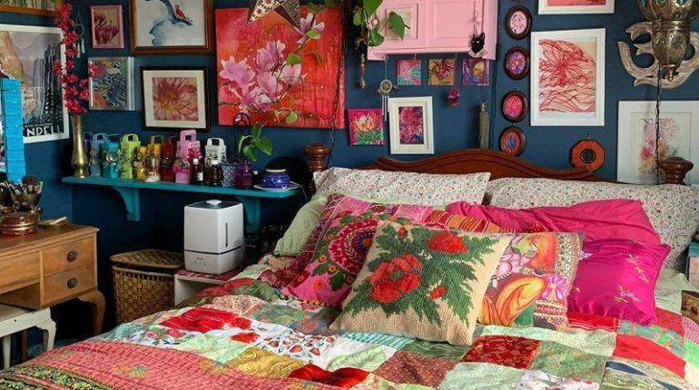 Wild Bohemian Style Decor Ideas For Bedroom