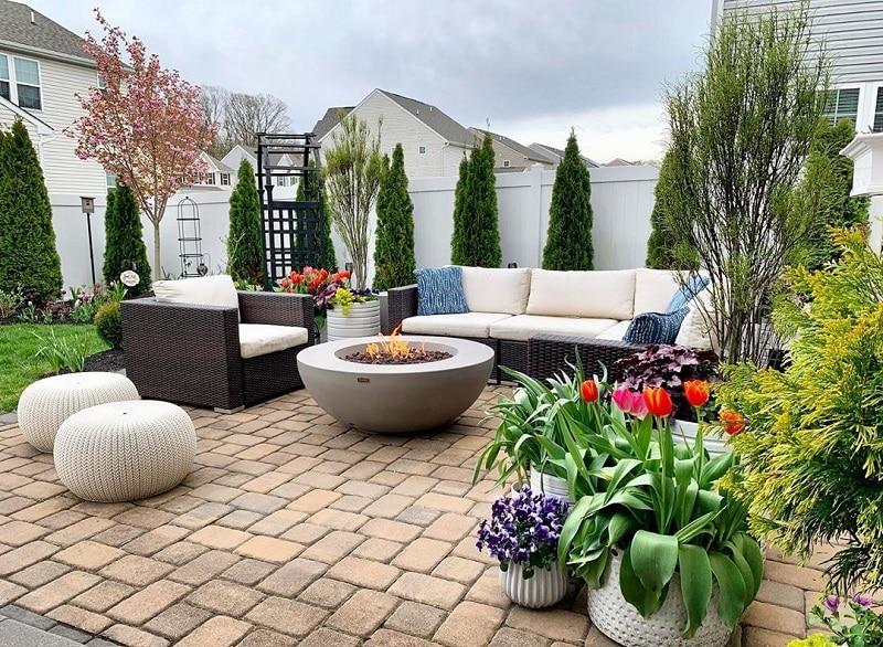 Blossoming Landscape Ideas For Garden