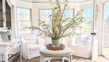 Contemporary Styled Sunny Decor Ideas For Sunroom
