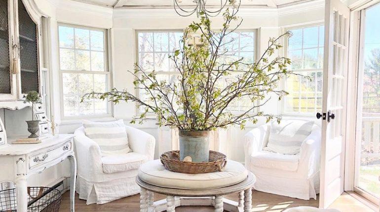 Contemporary Styled Sunny Decor Ideas For Sunroom