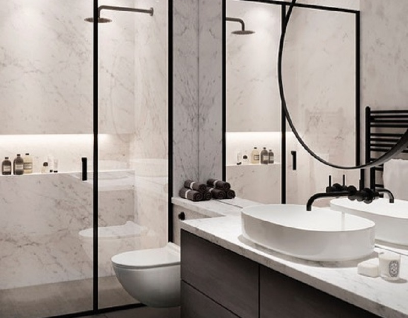 Eye-Catchy Decor Tips For Shower Area