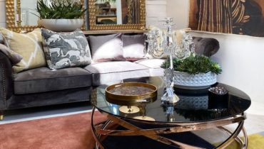 Metallic Decor Elements For Home Décor