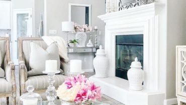 Excellent & Cozy Decor Ideas For Fireplace