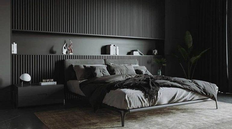 Bold Black Modern Makeover For Home