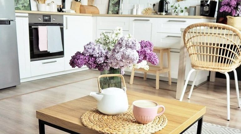 How To Decorate Home With Flowers