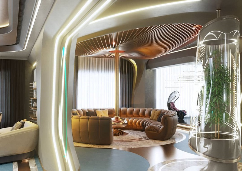 How To Style Futuristic Look Of Interiors