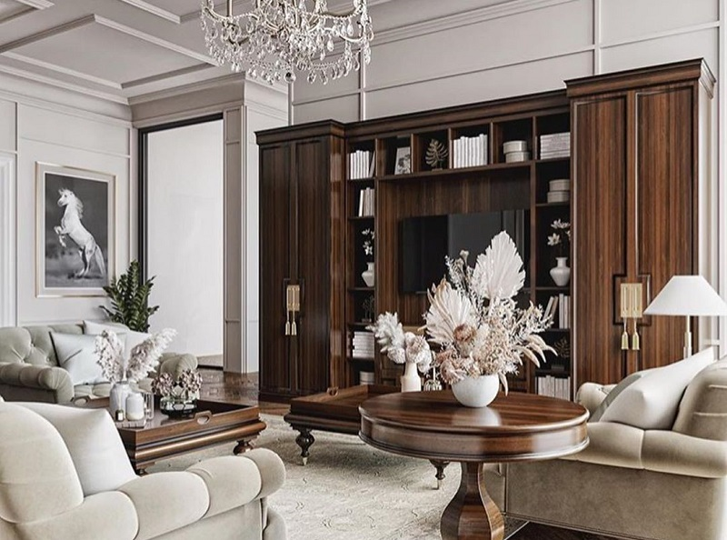 Dazzling Classic Decor Style For Home
