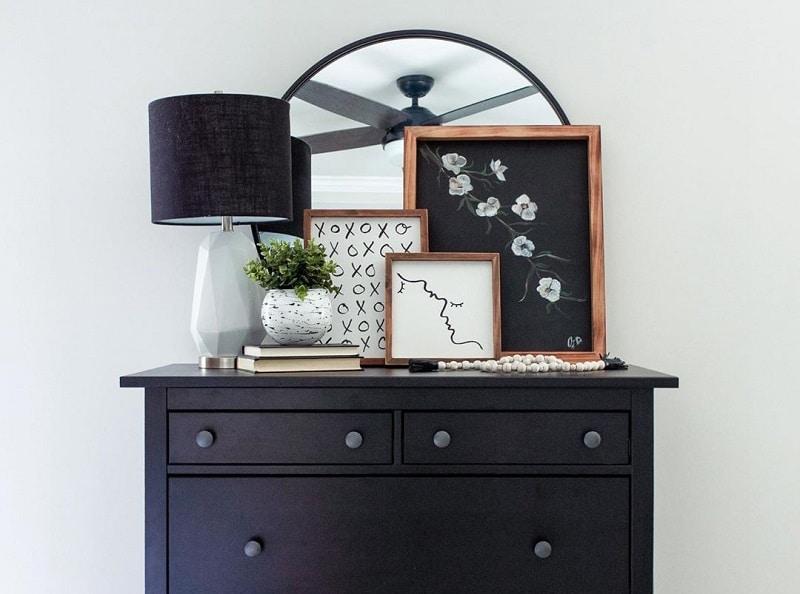 Excellent Decoration Ideas For Dresser Top