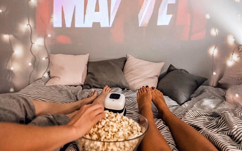 Living Room Makeover Ideas For Movie Date Night