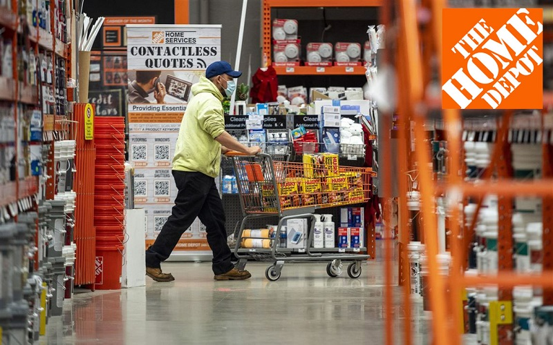 Home Depot's Top 12-selling product categories